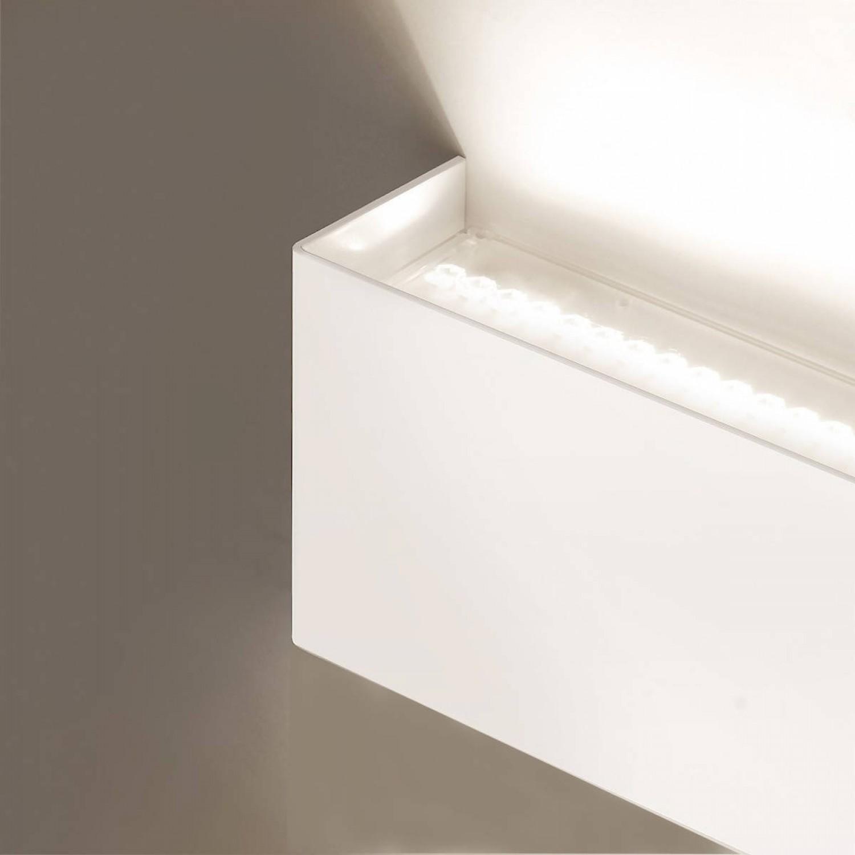 Favorito Applique da parete minimale di colore bianco ( disponibile anche XZ19