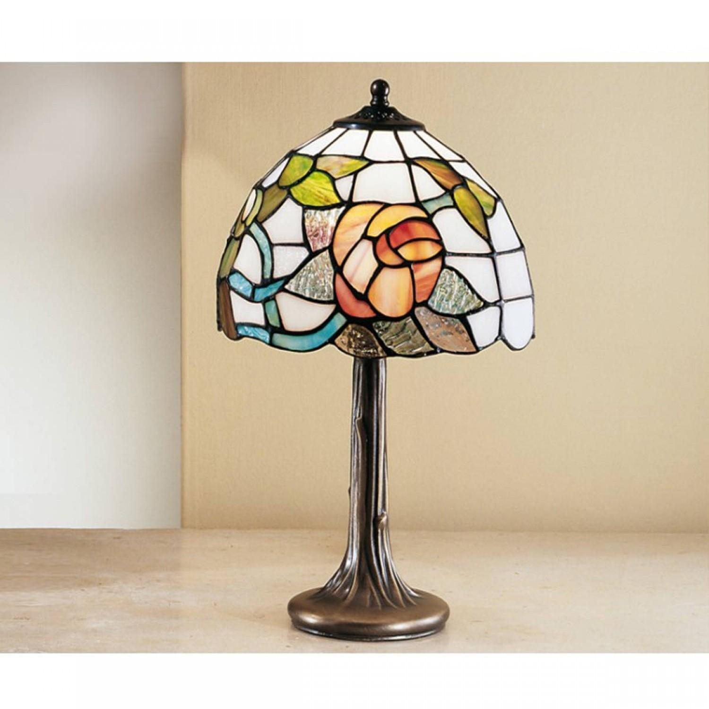 Lampada da tavolo classica in fusione ottone brunito e - Lampada da tavolo classica ...