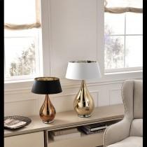 Lampada Da Tavolo Dal Design Moderno Con Paralume In Vetro Soffiato Disponibile In Varie Colorazioni E Dimensioni 1 Luce E14 Pierlux Illuminazione